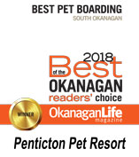 2018 Best Pet Boarding Award