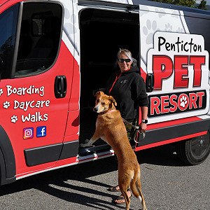 Penticton Pet Boarding Shuttle