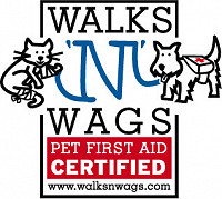 Walks N Wages Pet First Aid Certified